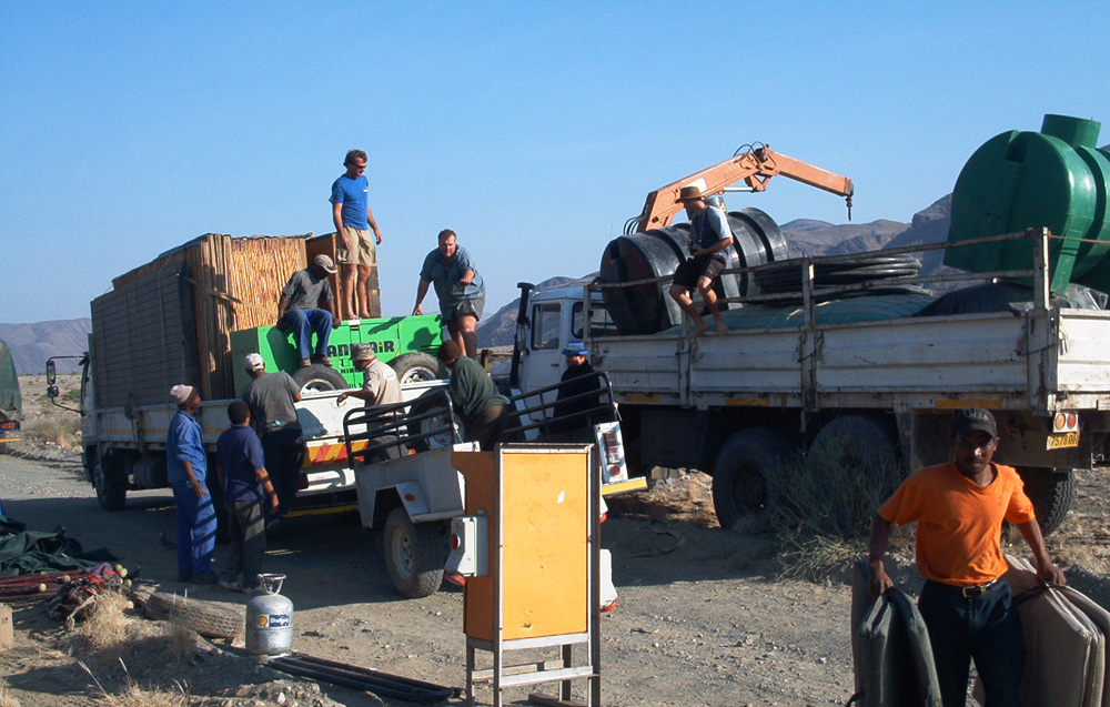 Mobile Tented Camps and Remote Site Services